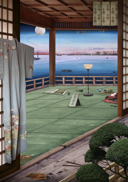 Tokyo Story 4 Interior (after Hiroshige)