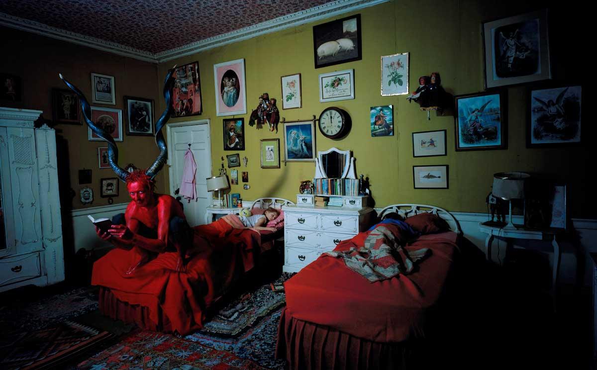 The Red Devil - Edition of 5 + 1AP - Lambda print on aluminium - 200cm x 124cm x 2cm / Edition of 10 + 2AP, Digital c-type, unmounted - 100cm x 62cm