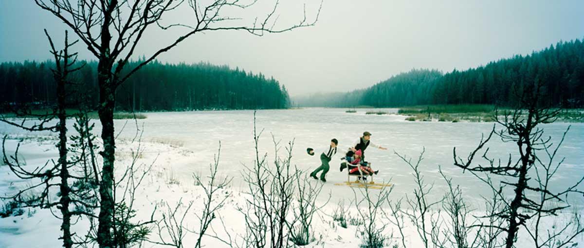 The Frozen Lake - Edition of 5 + 1AP - Lambda print on aluminium - 200cm x 85cm x 2cm / Edition of 10 + 2AP - Digital c-type, unmounted - 100cm x 42.5cm