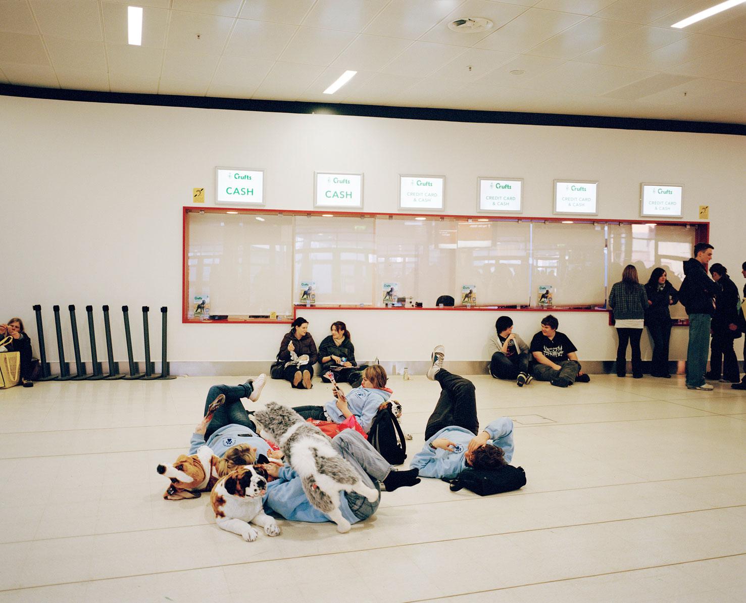 Kids Lying Around