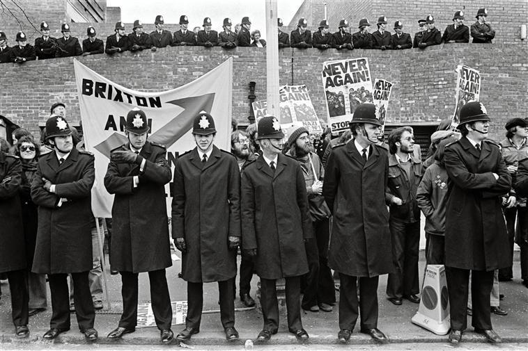 G.B. ENGLAND. London Anti-Nazi Demonstration. 1978.