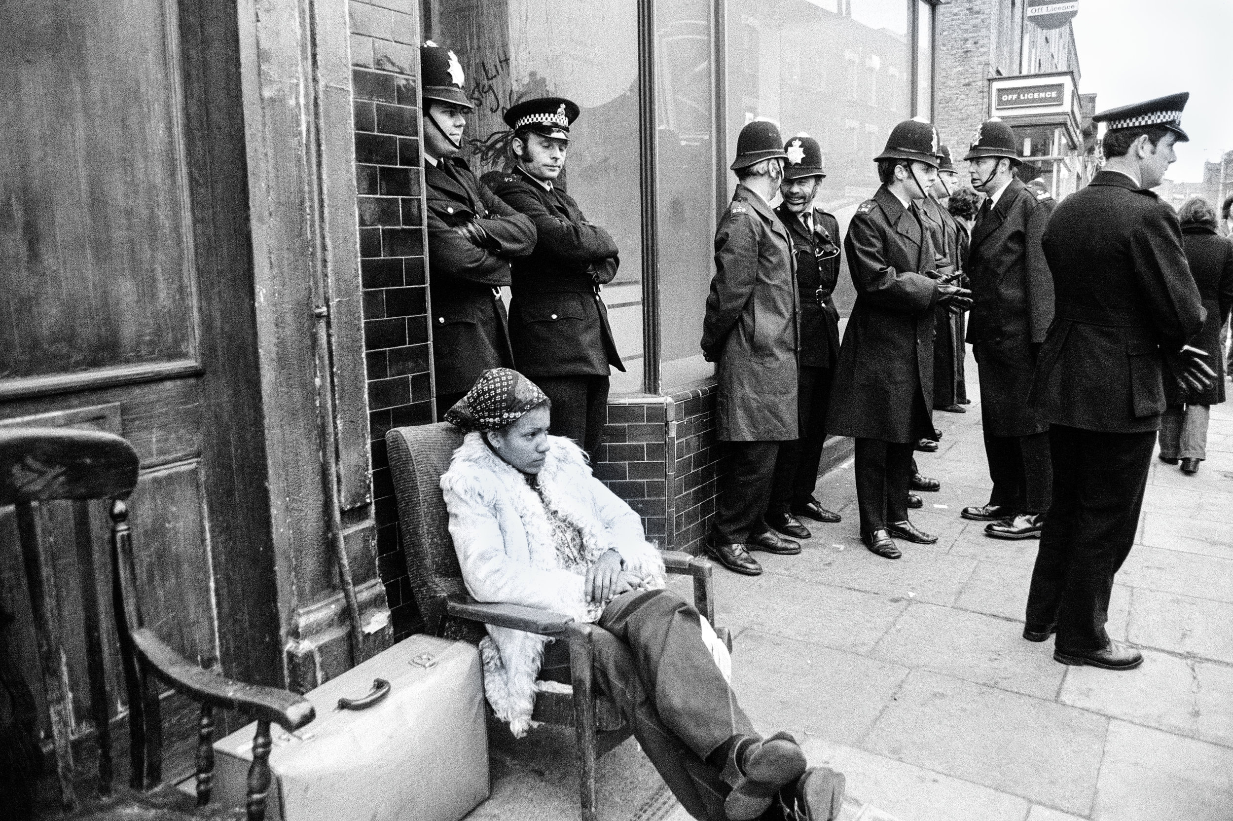 Eviction in Brixton, 1974