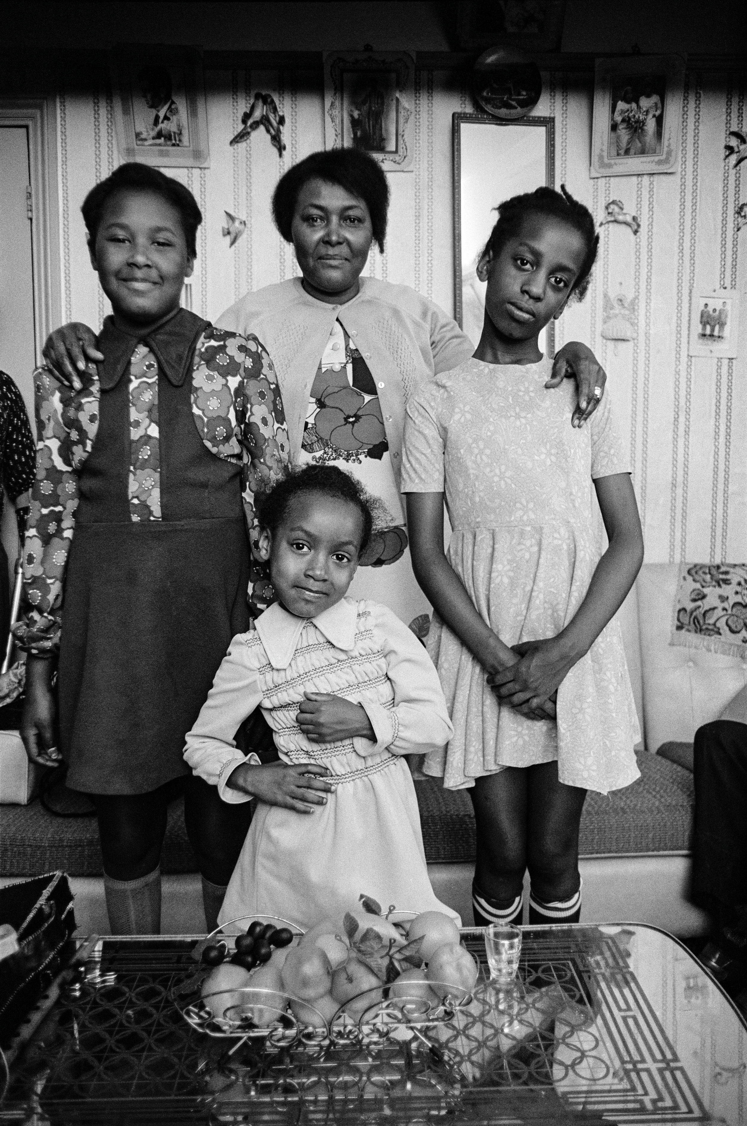 West Indian Family, 1973