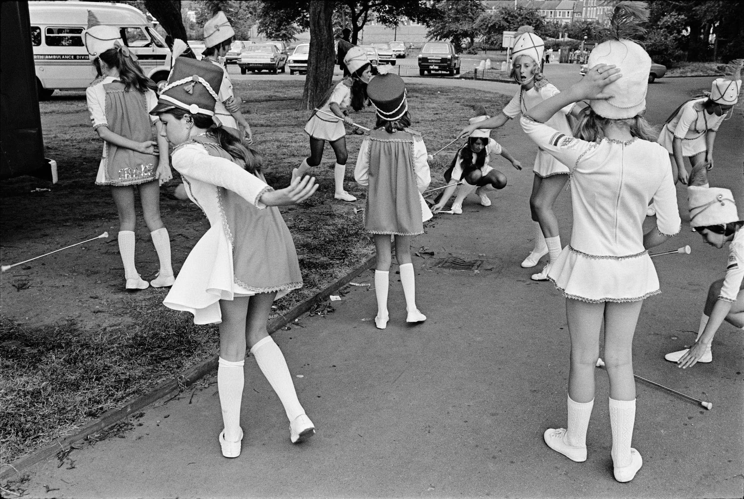 Drum Majorettes, 1975