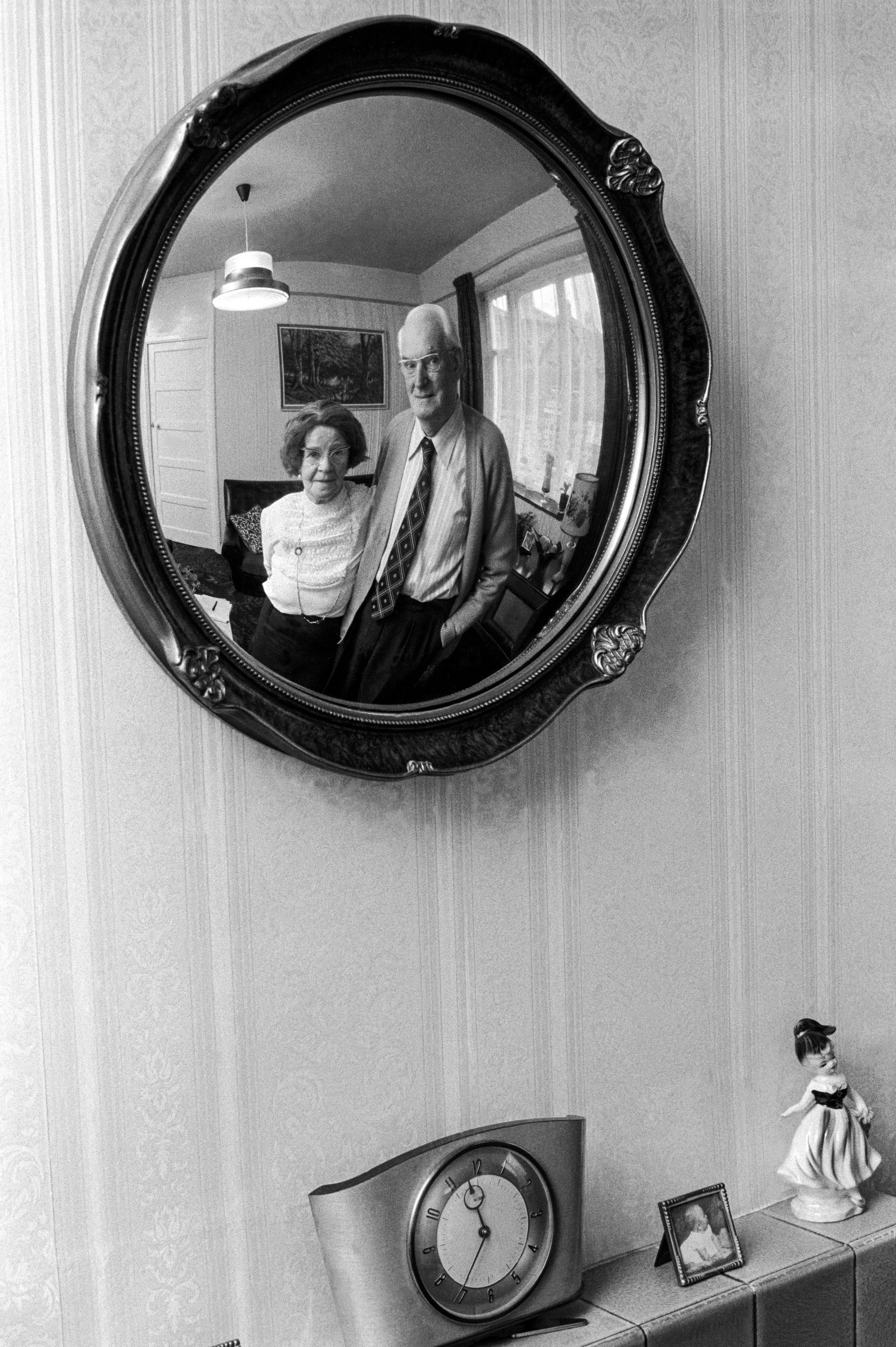 Elderly Couple, 1974