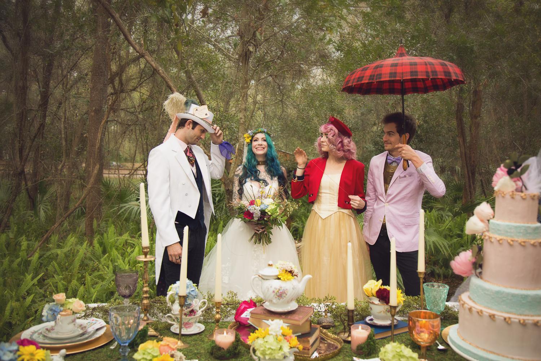 SPRINGTIME IN WONDERLAND - Whimsical inspiration for the modern bride and groom.