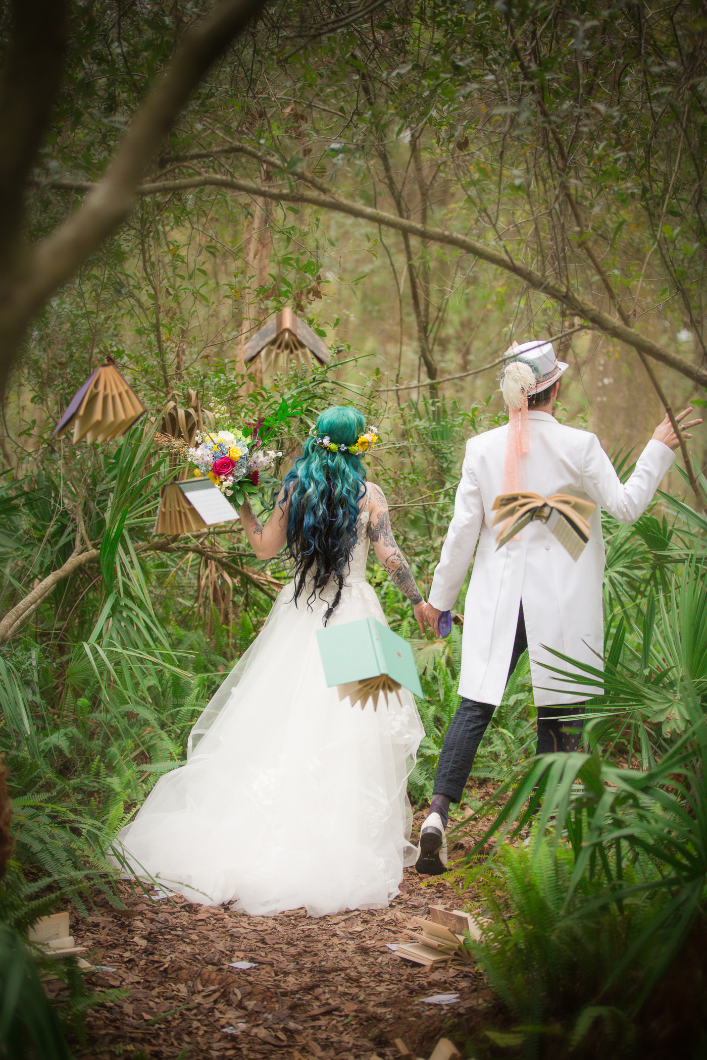 ...and they lived happily forever in Wonderland -