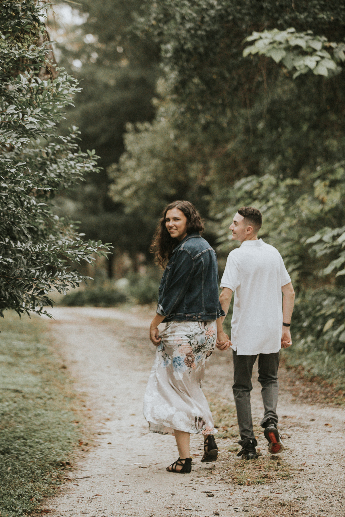 Save the Date! Other notabledates for these two include… - 1/20/2019 — The release of their B&W photo film prints from this session.5/18/2019 — Tessa and Patrick's special day!!