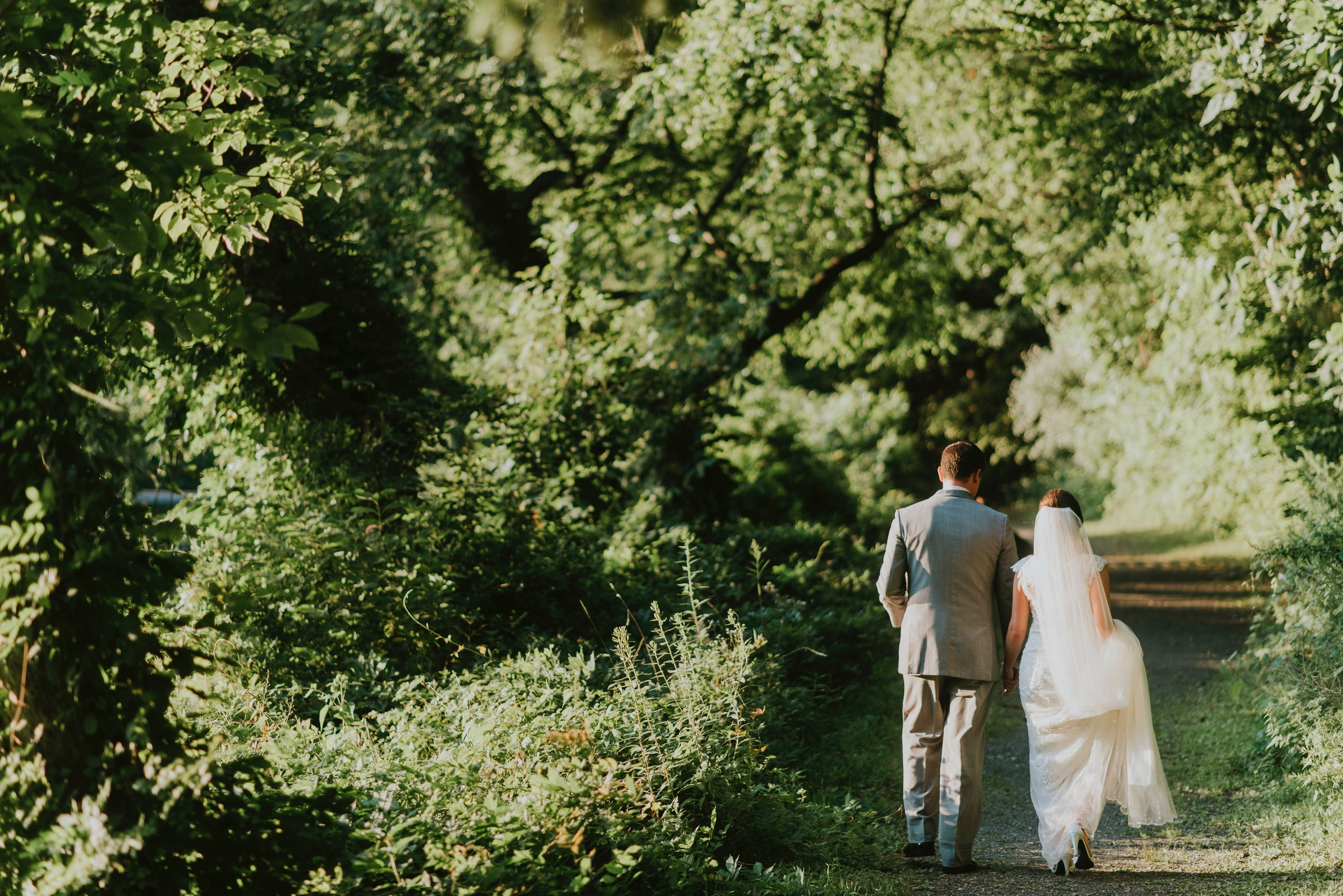 Woodland weddings are on the rise...