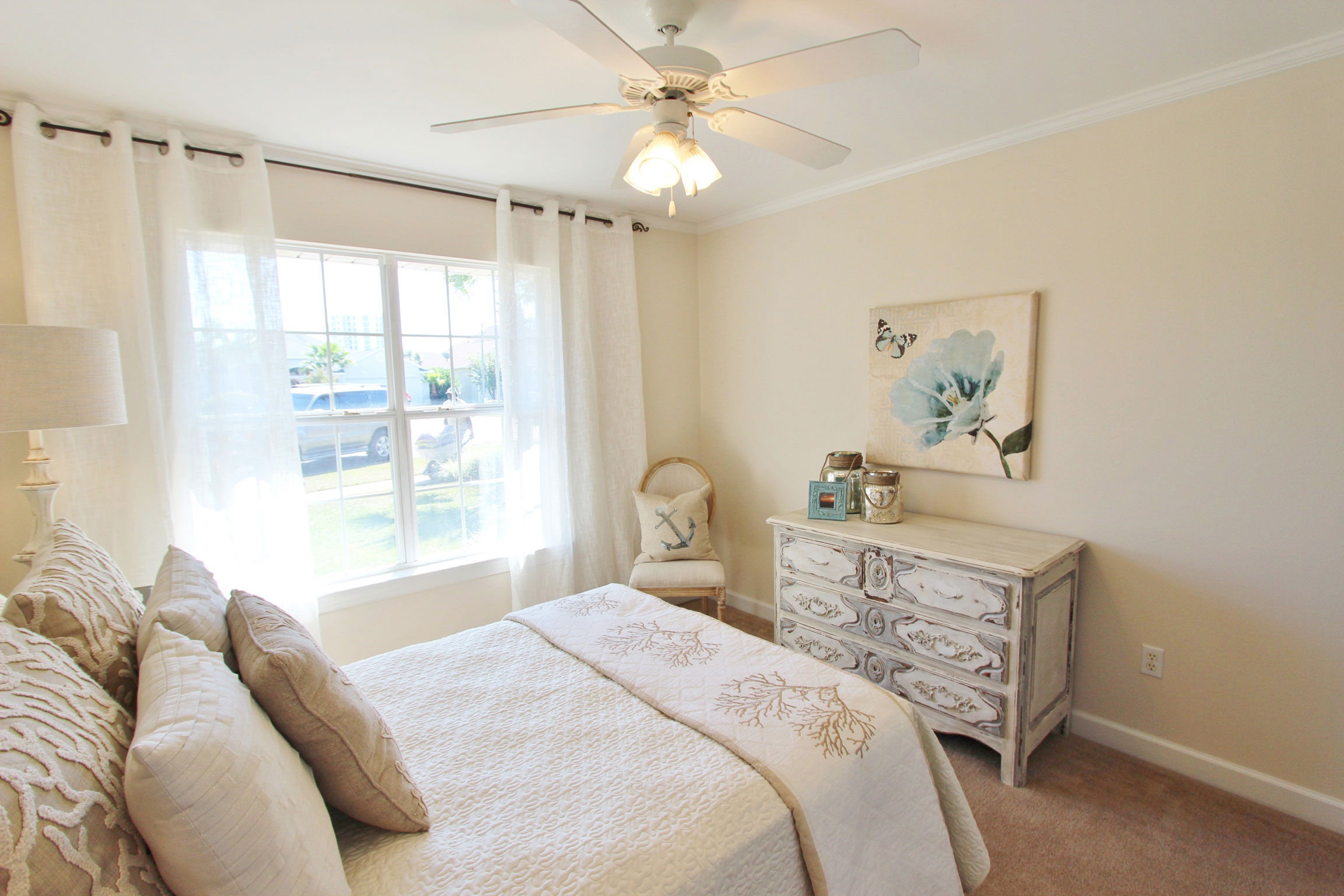 Image of Bedroom with Professionally Staged Furniture