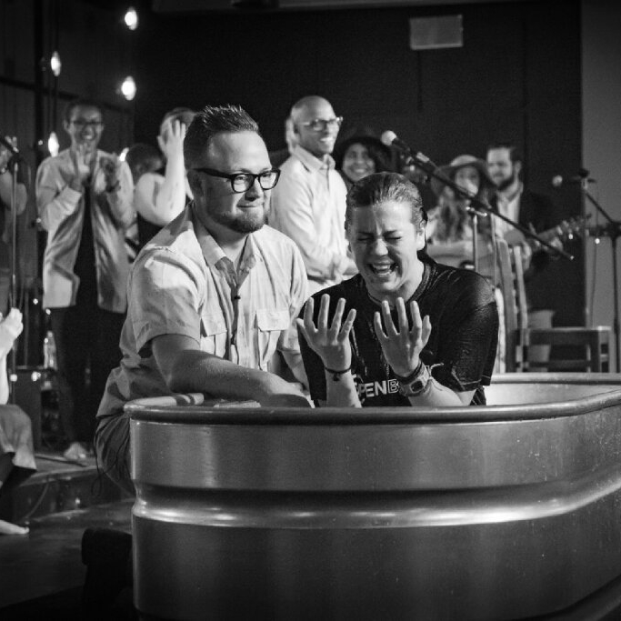 BAPTISM - Interested in being baptized?