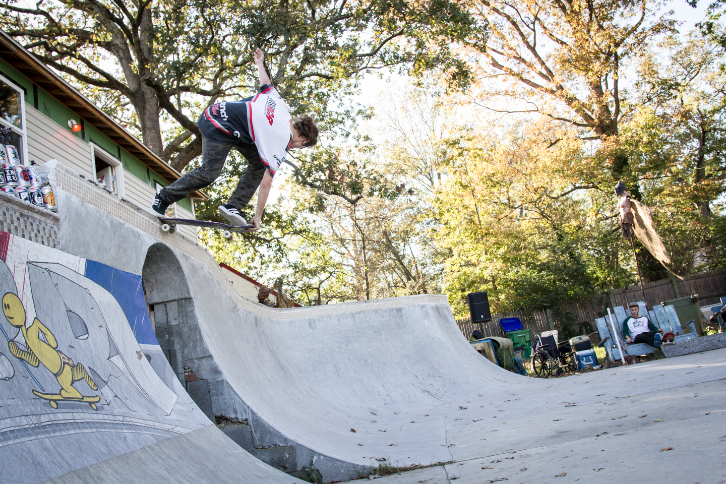 Some dude, back crail.