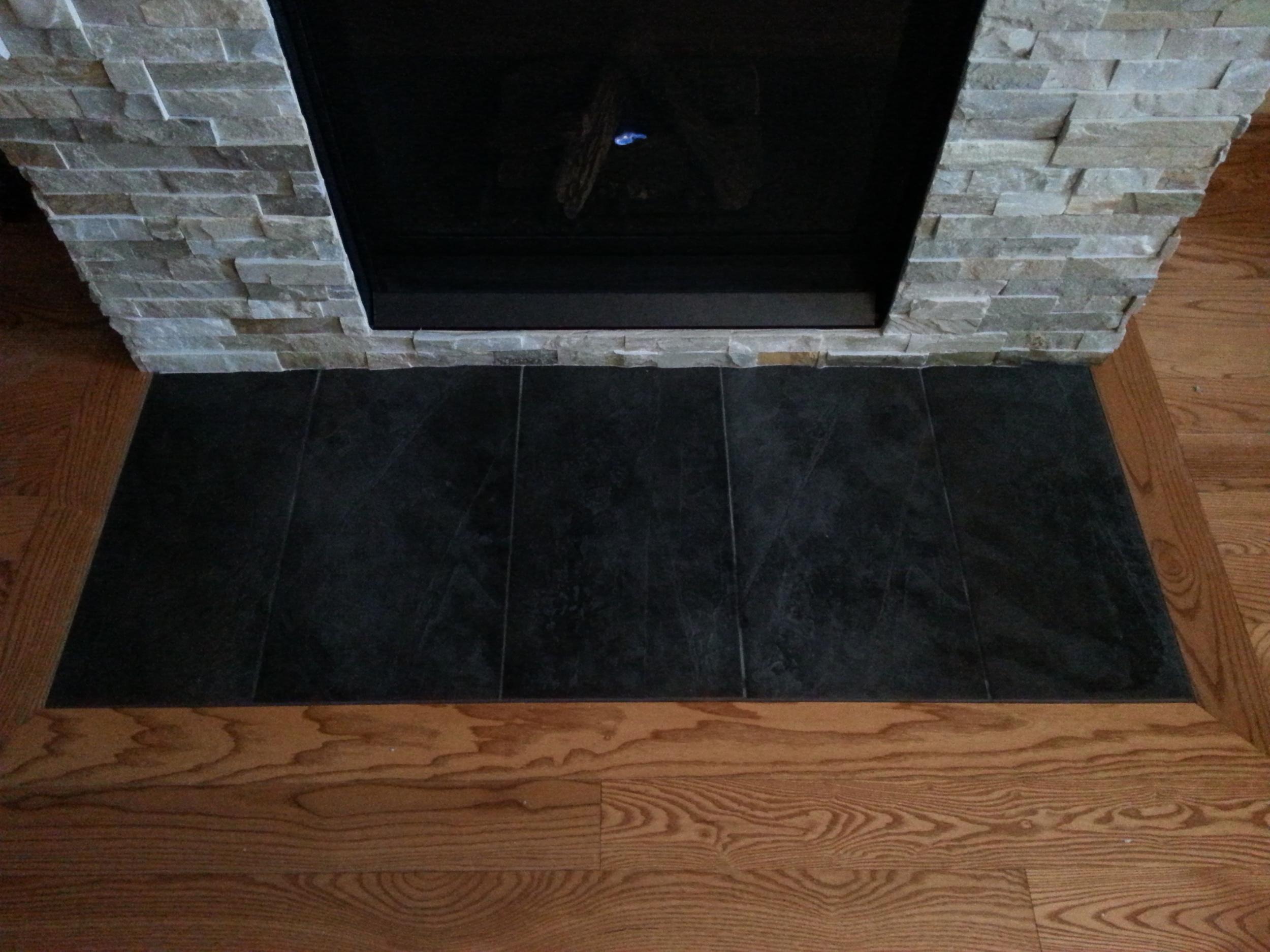 Tile Contractors Work - Fire Place (2).jpg