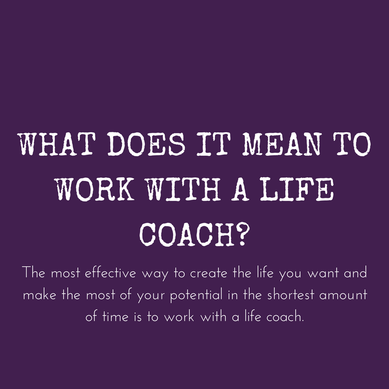 In this blog post, I break down what it means exactly to work with a life coach.
