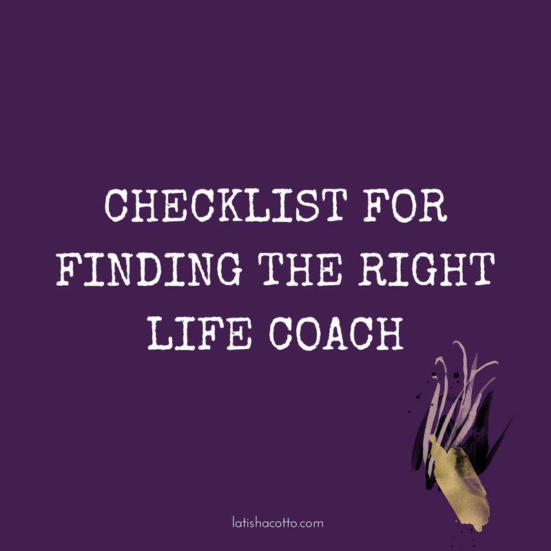 In this blog post, I provide you with a powerful checklist to use during your search for the perfect life coach.