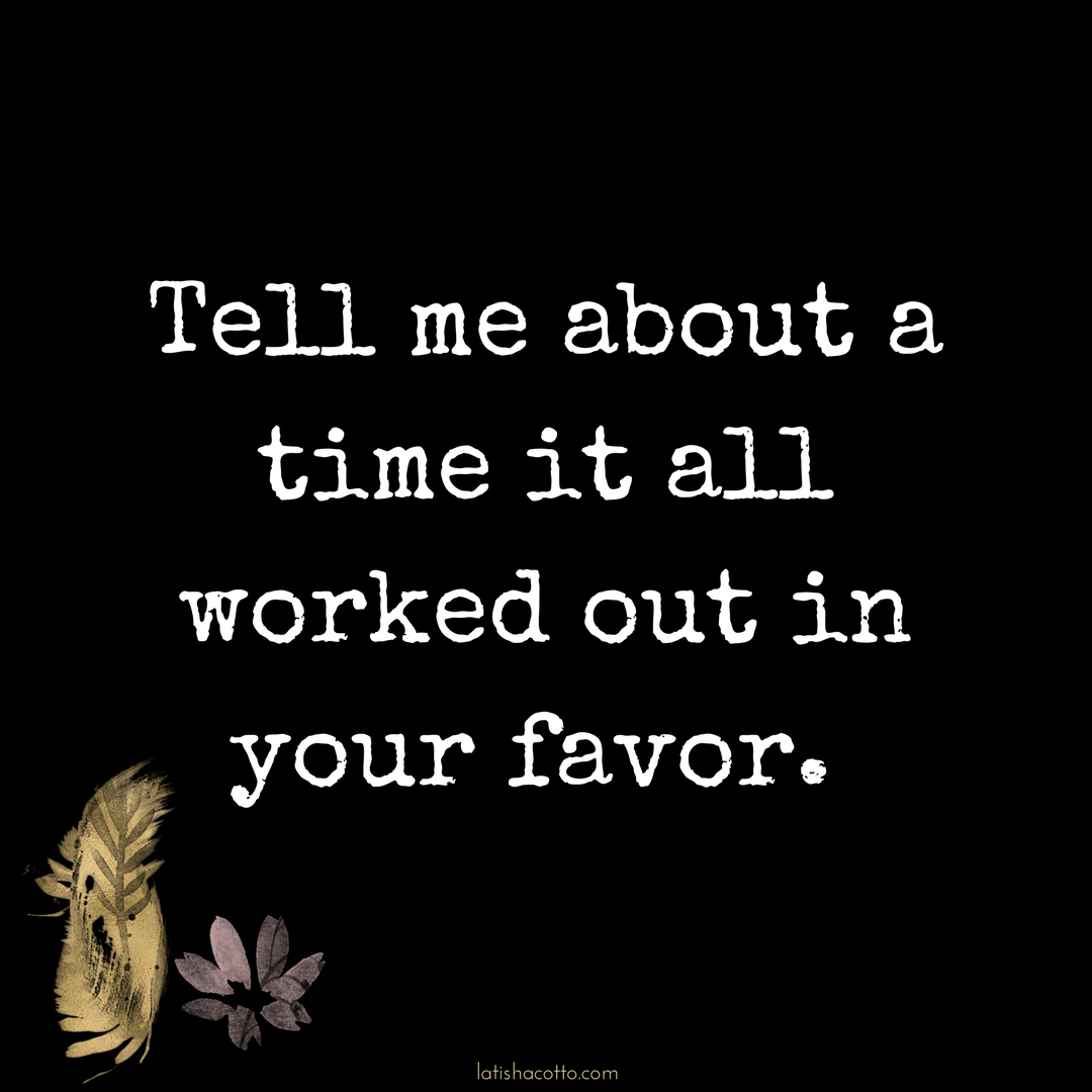 Click here to read about a time it all worked in my favor.