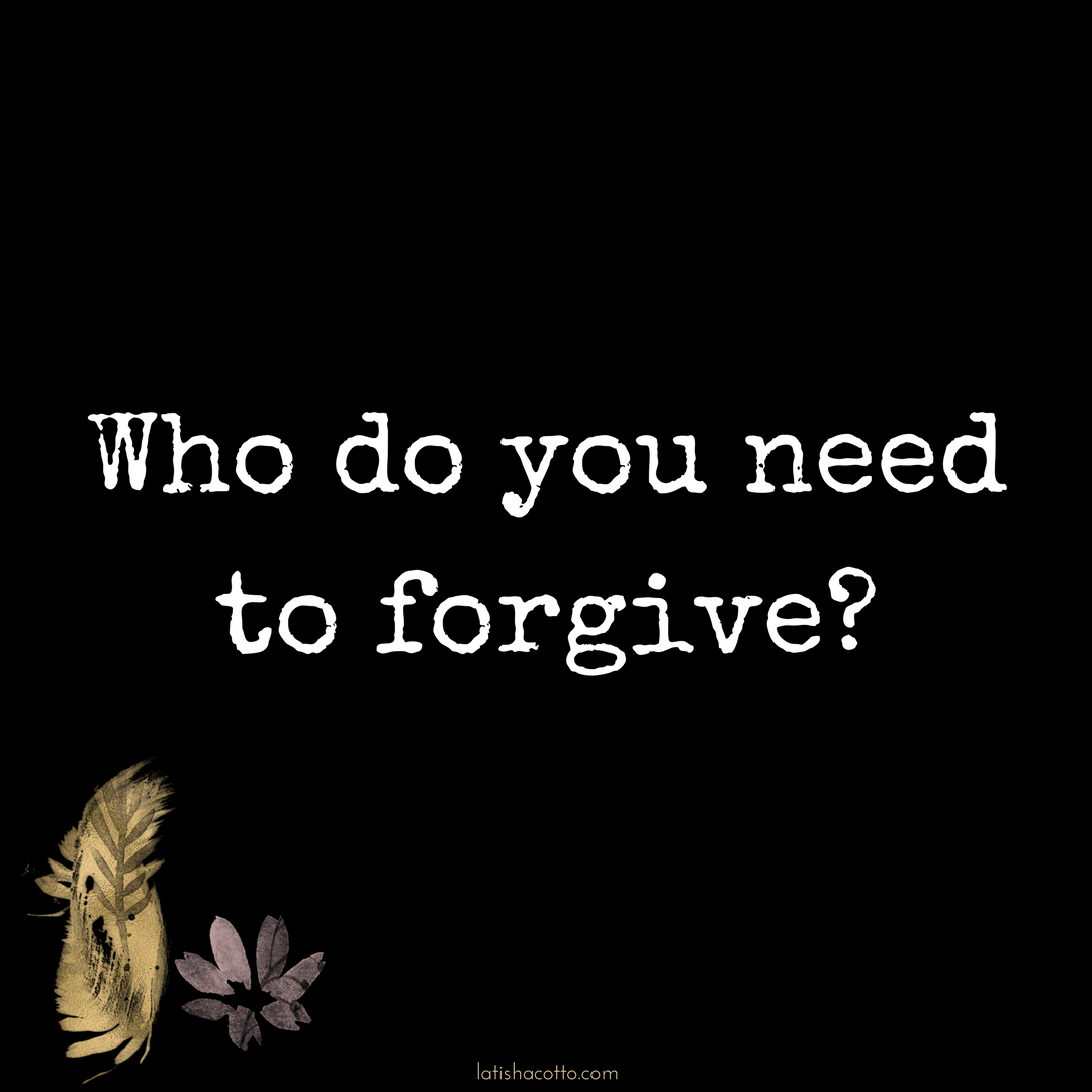 Click here to read about the power of forgiveness.