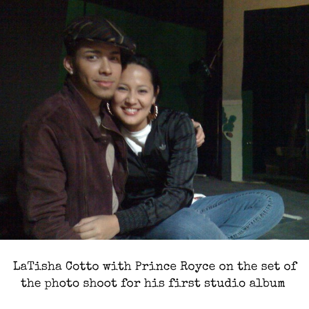 LaTisha Cotto with Prince Royce