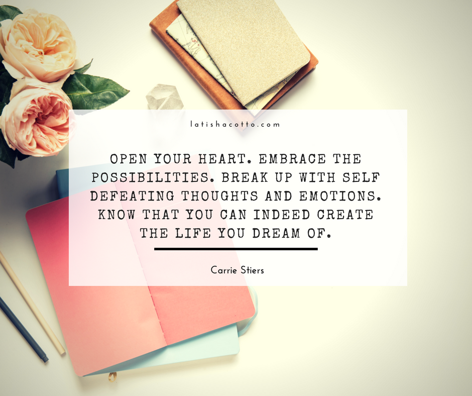 Open Your Heart Quote