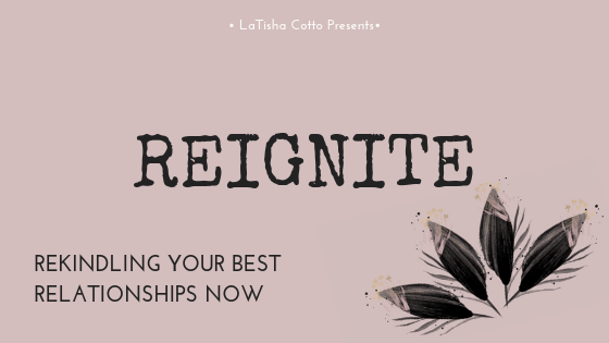 It's time to reignite your relationship now!