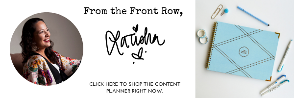 CLICK HERE TO SHOP THE CONTENT PLANNER