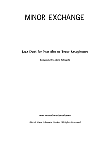 Minor Exchange (Jazz Duet for Two Alto or Tenor Saxophones).png