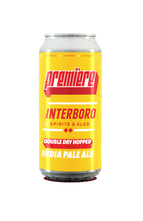 Premiere - INDIA PALE ALEABV: 6% • IBU: 30 • SRM: 7 • OG: 13.5°PPours hazy yellow, tropical and citrus aromas, taste of bubblegum, melon, pineapple. Brewed with pilsner and Vienna malts, American Ale yeast and hopped with Citra, Mosaic, Galaxy, and double dry hopped with Mosaic hop dust pellets. Light refreshing with crisp finish.