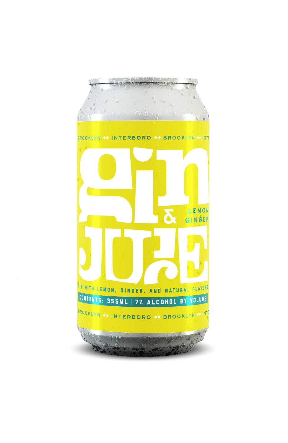 Lemon + Ginger Gin & Juice - 12 oz. cans / 7% ABVBold, refreshing, fizzy, lemony, with a hint of ginger heat in the finish, mixed and mingled with our house made gin, this cocktail is the legit shizzz-nit.