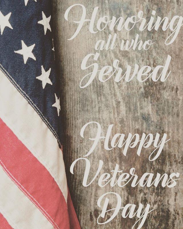 Thank you, Veterans 🇺🇸