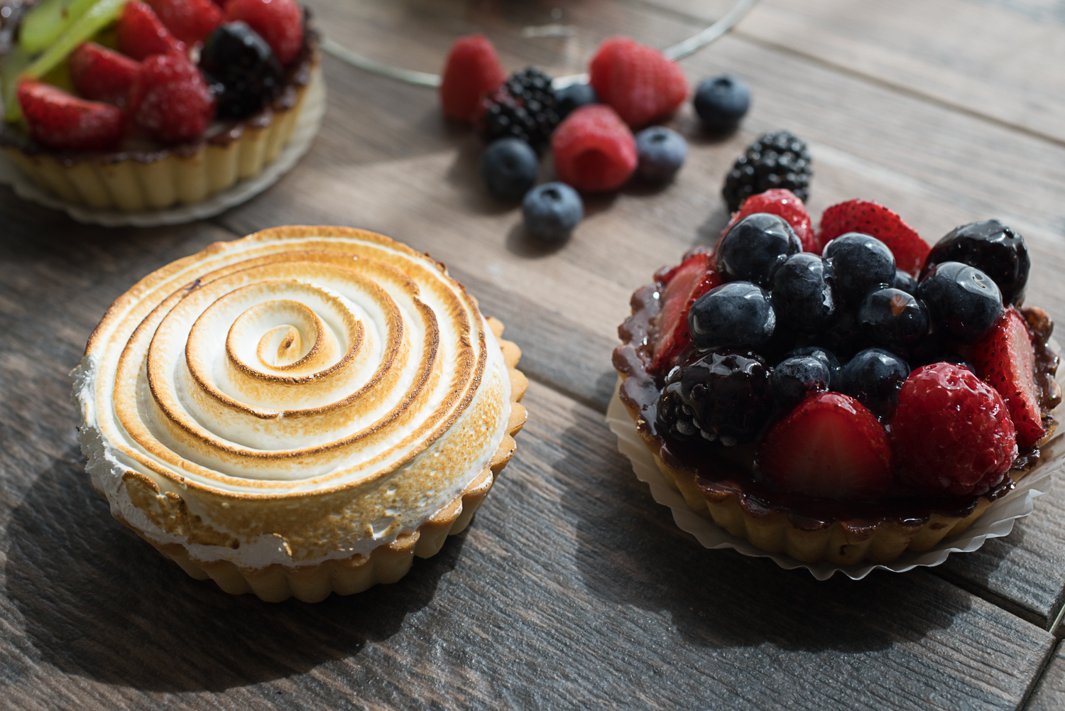 Delectable tarts made fresh daily