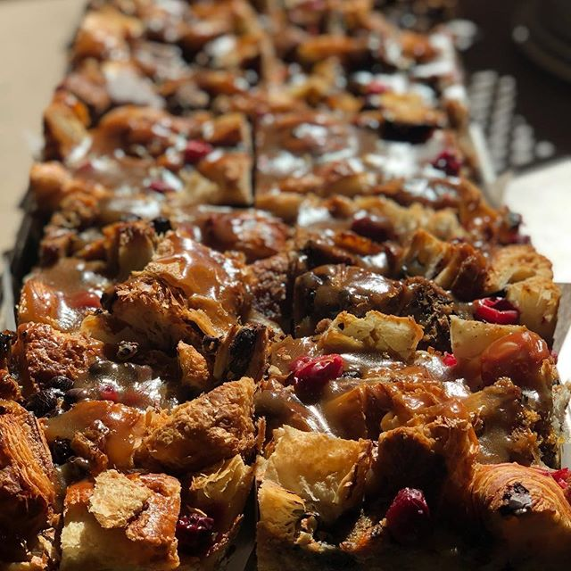 Very rarely does our bread pudding actually contain bread.... Weird right??? Maybe that's why it's so delicious, mysterious and magnificent!! #frenchwaycafe#breadpudding#caramel