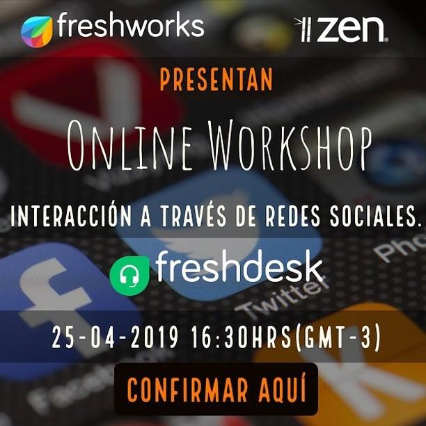 Nuestro próximo workshop este viernes. Si quieres asistir escríbenos! 💪🏻