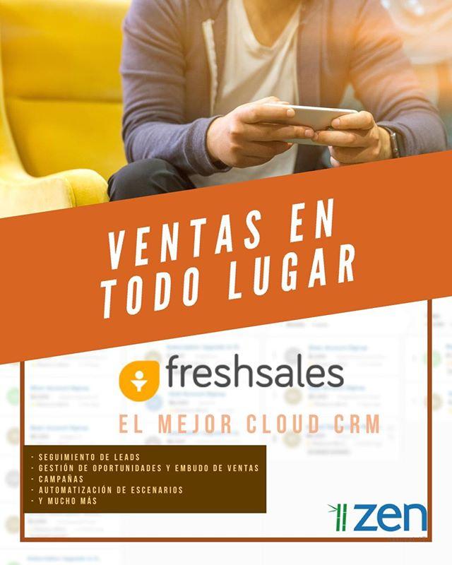Cómo aumentar las ventas y atender mejor a tus clientes y prospectos? 😎 Te presentamos Freshsales! 👍🏼 escríbenos un DM por cualquier consulta. Pruébalo Gratis!