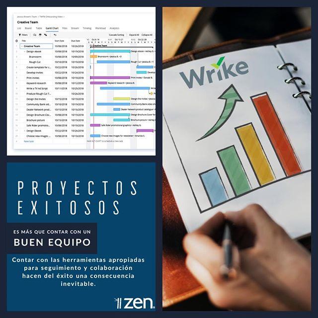 Para coordinar equipos de trabajo y lograr resultados.  Con Wrike, hazlo posible.