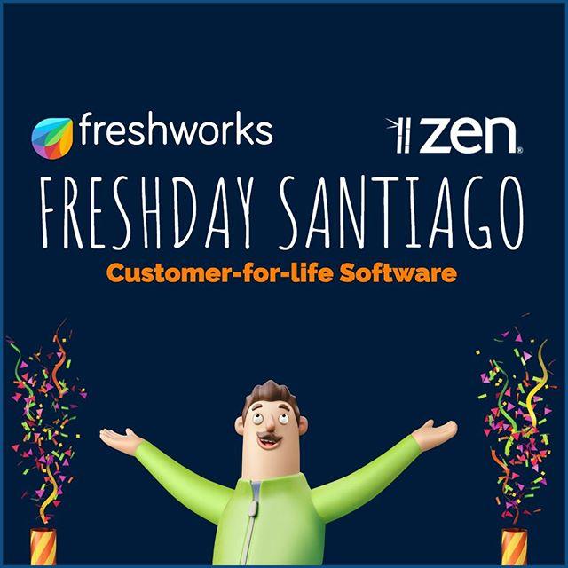 Confirmado. Es un agrado confirmarles que contaremos nuevamente con personal de #Freshworks en Chile para realizar el primer #Freshday Santiago en el Hotel W de Santiago / Chile. Pronto novedades!