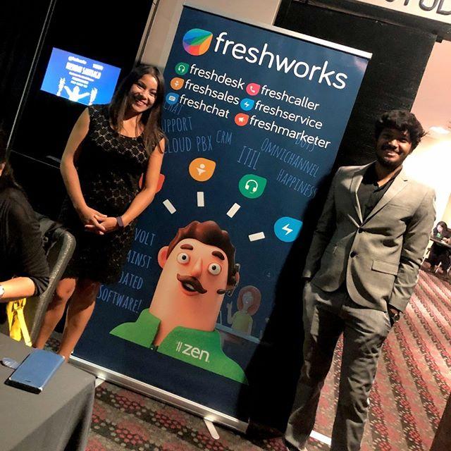 El día 7 de Junio en el Hotel W 👔, hemos compartido una vez más con nuestros amigos de Freshworks en el #Freshday2019. Hablamos sobre el futuro del servicio al cliente, además de presentar las herramientas de Omnicanalidad. Gracias a todos los participantes! 😁