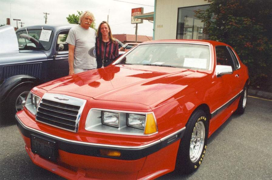 Jim & Carol Croft - 1985 Ford T-Bird