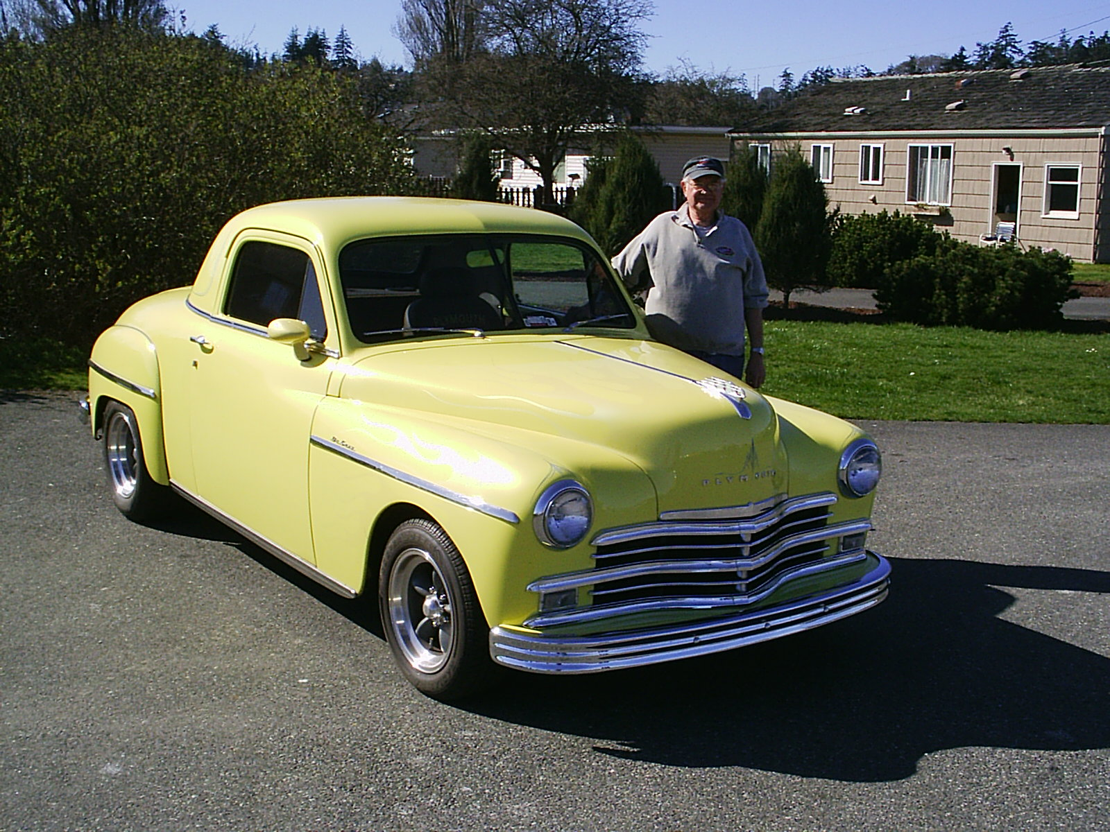 Bud & Brenda Axley 1949 Plymouth Coupe