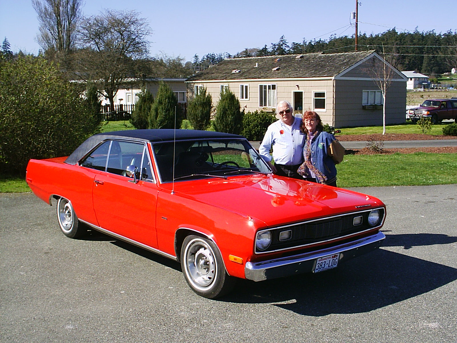 Fred & Mary Benninghoff 1972 Plymouth Scamp