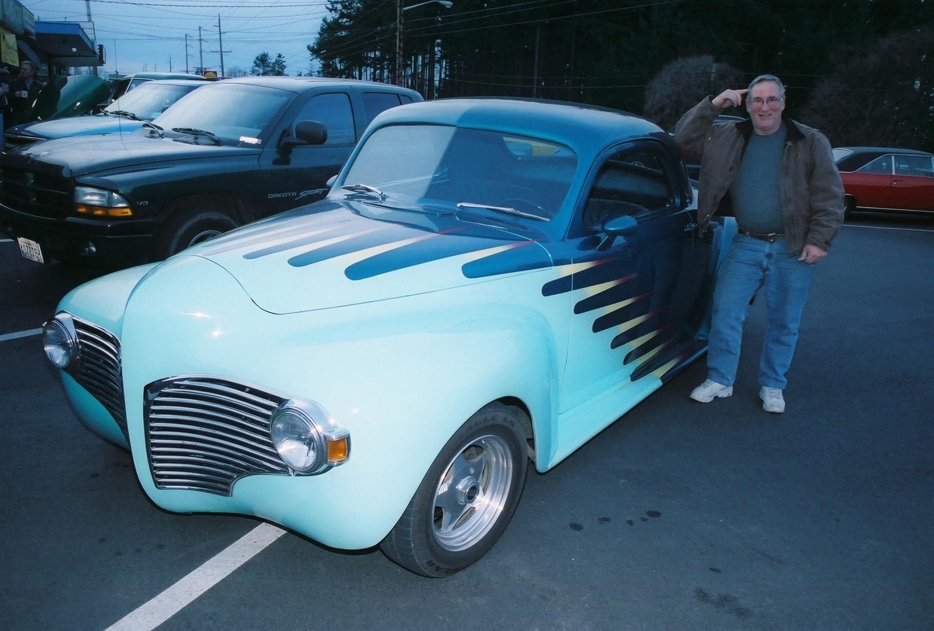 Jim & Joannie Flowers 1941 Dodge Coupe