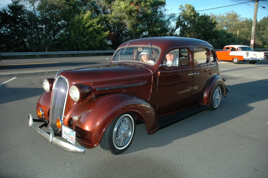 Robert & Carol Reamer 1937 Plymouth