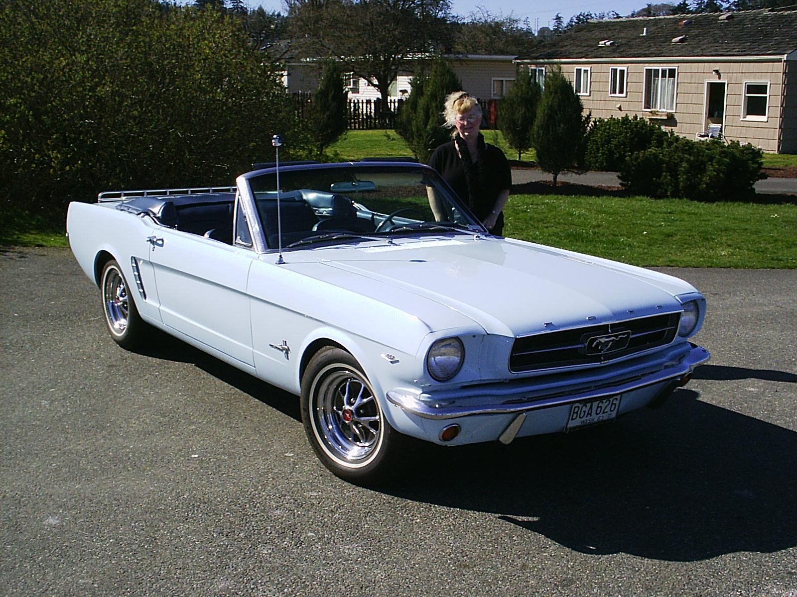 Bud & Brenda Axley 1965 Ford Mustang