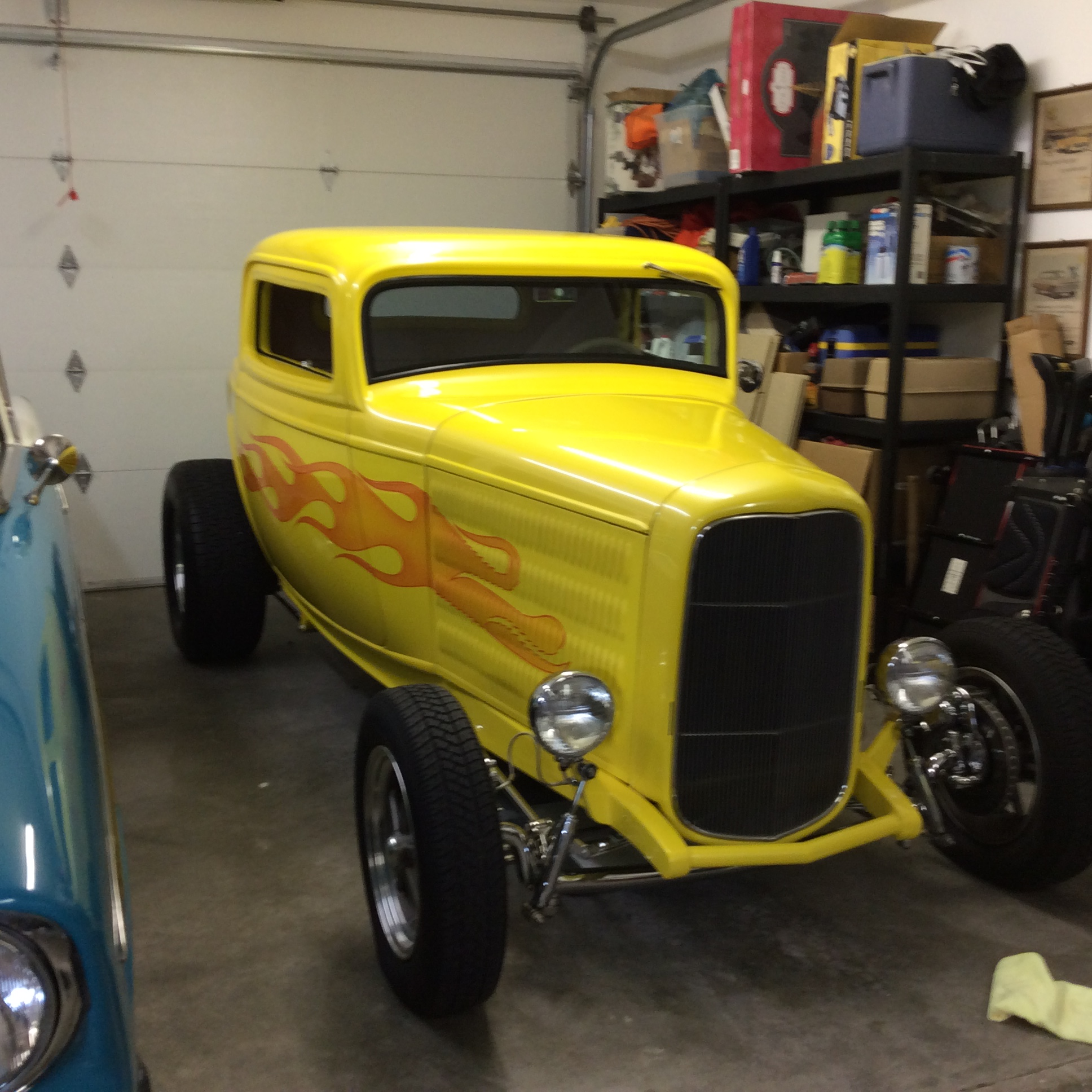 Don & Suzi Souza 1932 Ford Coupe