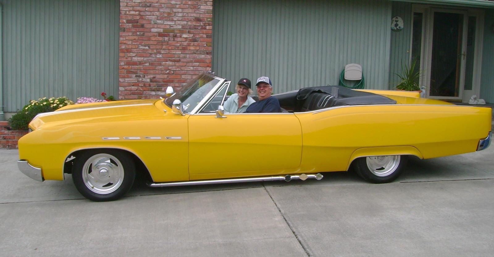 Ed & Darlene Hammond 1967 Buick Electra conv