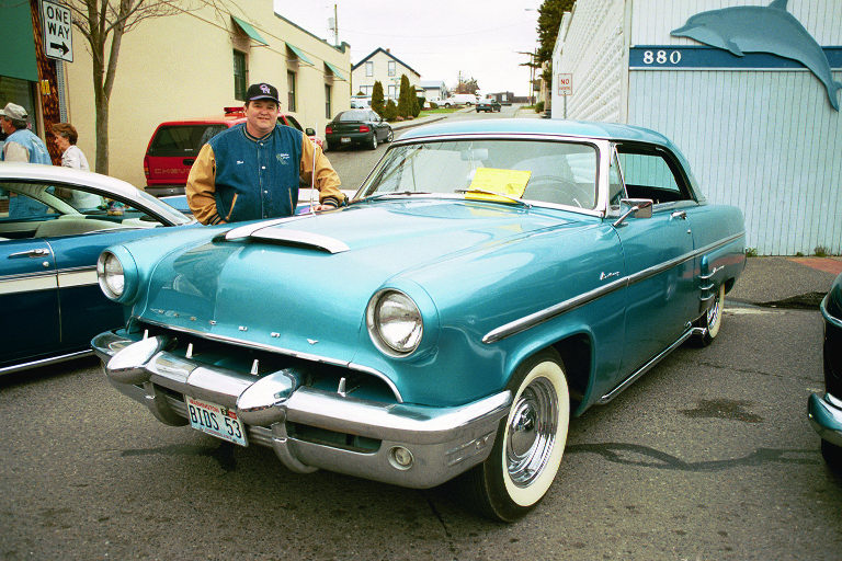 Bruce & Judy Biddle 1953 Mercury