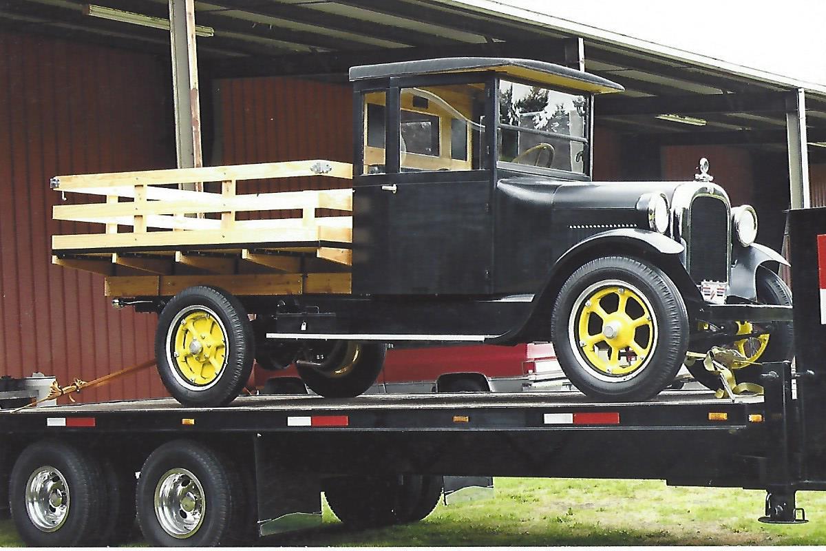 Lynn Holmes 1927 Graham Bros Truck
