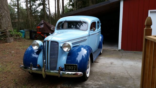 Marty Luther 1937 Dodge