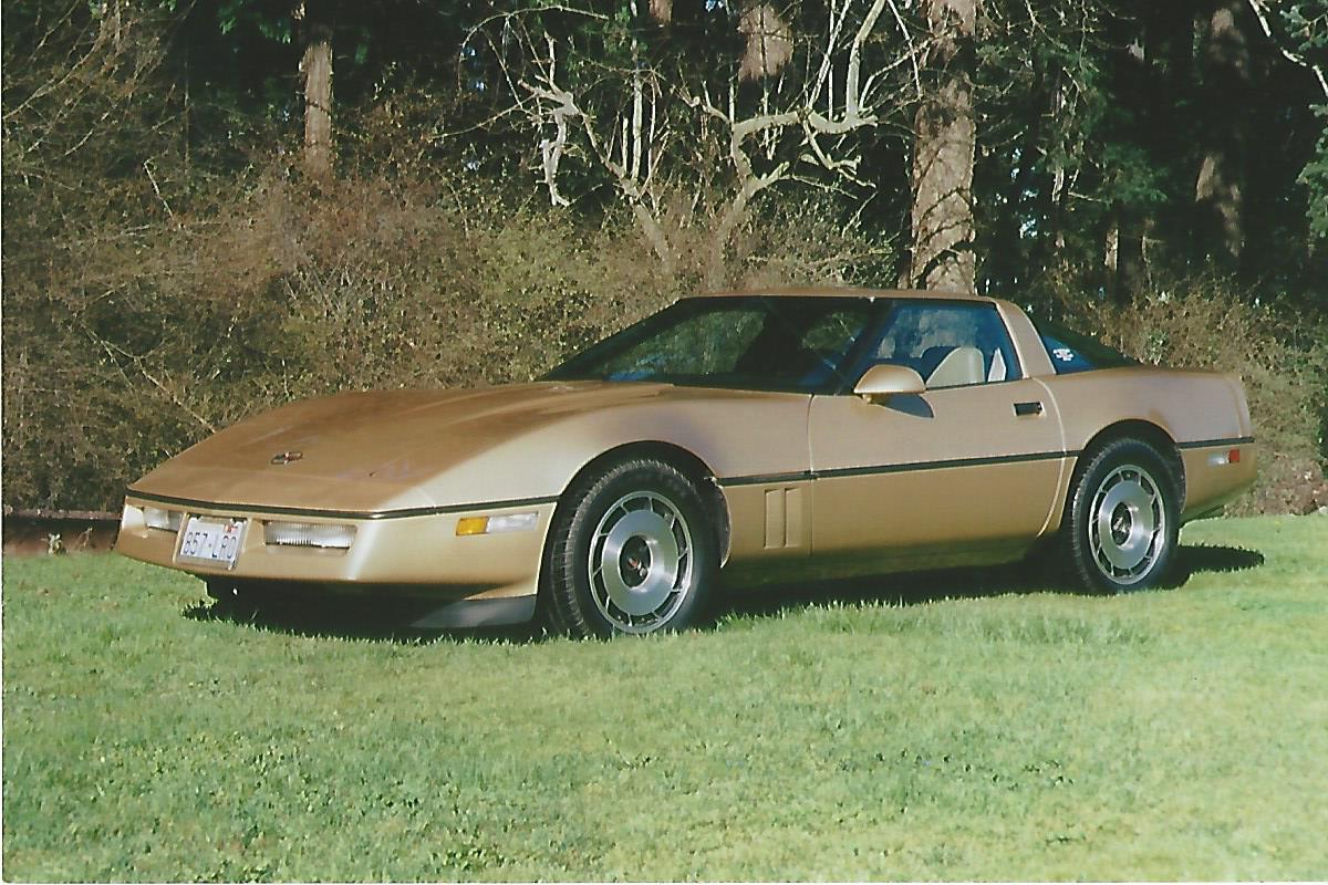Lynn Holmes 1985 Chevy Corvette