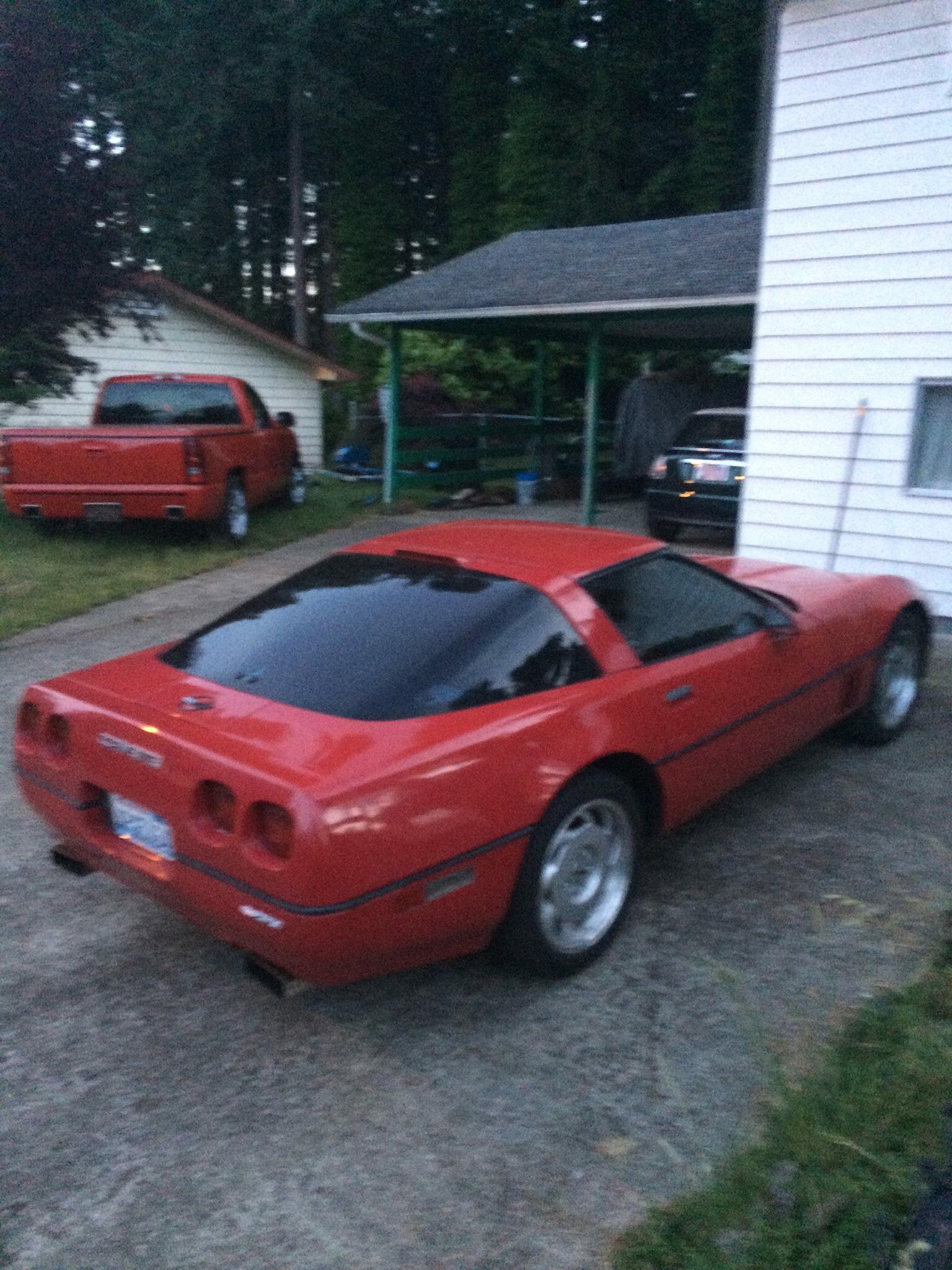 Greg Smith 84 C4 Chevy Corvette