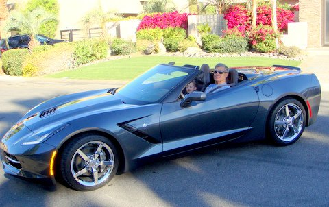 Bob & Diane Diens 2014 Chevy Corvette